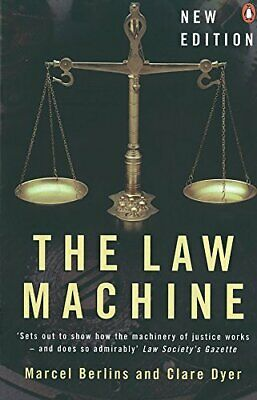 The Law Machine by Berlins, Marcel Paperback Book The Cheap Fast Free Post