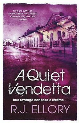 A Quiet Vendetta by R.J. Ellory Paperback Book Free Shipping!