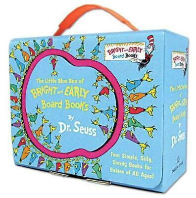 The Little Blue Box Of Bright And Early Board Books - Dr. Seuss (Hardcover) New