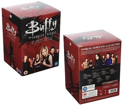 BUFFY 1 - 7 1997-2003: COMPLETE Series 20th Anniversary Edition - R2 DVD not US