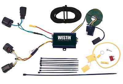 WESTIN 65-60013 2W 4-Flat T-Connector Wiring Harness for ... on