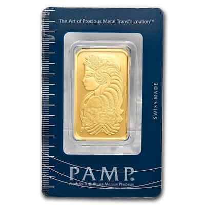 1 oz Gold Bar - PAMP Suisse Lady Fortuna (In Assay) - SKU #11951