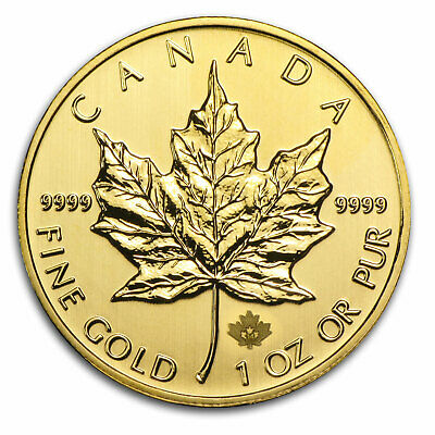 2014 Canada 1 oz Gold Maple Leaf BU - SKU #79032