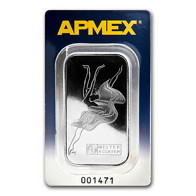 1 oz Palladium Bar - APMEX (In Assay) - SKU #73030