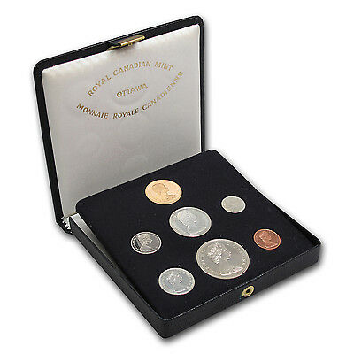 1967 Canadian Centennial 7 Coin Proof Set with $20 Gold Coin - SKU #14291