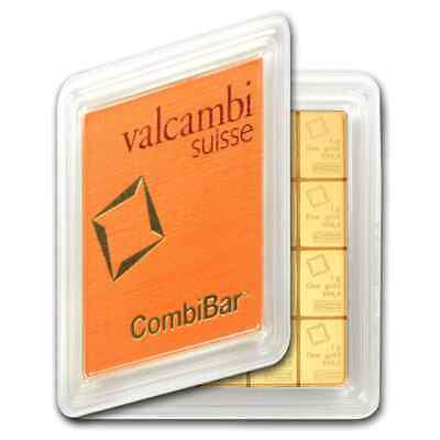 20x 1 gram Gold CombiBar™ - Valcambi (In Assay) - SKU #81533