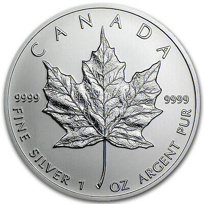 2013 Canada 1 oz Silver Maple Leaf BU - SKU #72463