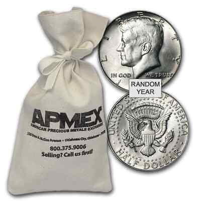 40% Silver Half Dollars - $100 Face Value Bags - 40 Percent Silver - SKU #47