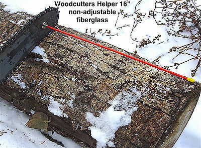 """Woodcutters Helper 16"""" Magnetic Firewood Measuring Attachment"""