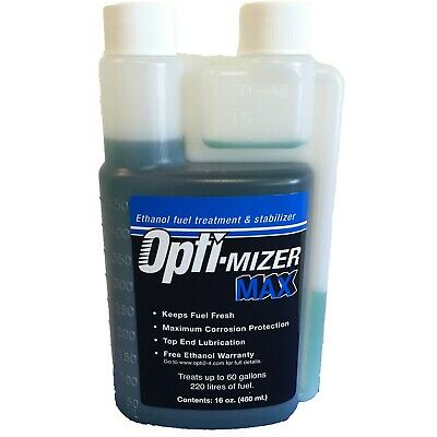 Opti-mizer 61612M 16-Oz. MAX Ethanol Fuel Treatment Stabilizer Measuring Chamber