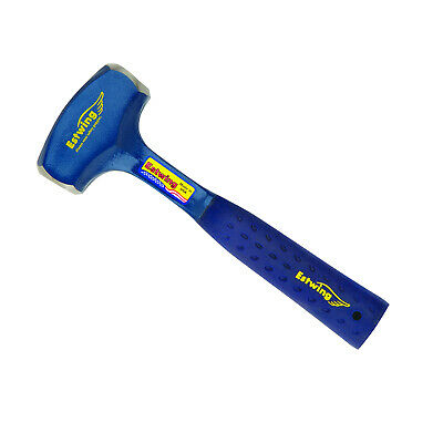Estwing B3-2LB Solid Steel 2lb Drilling Hammer with Nylon Grip