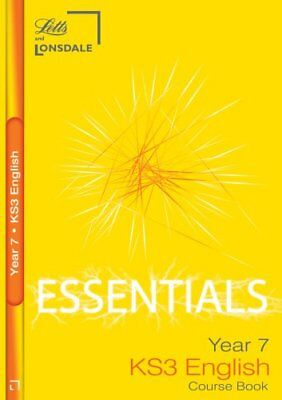 Lonsdale Key Stage 3 Essentials - Year 7 English: ..., Johnson, Robert Paperback