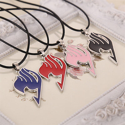 UK Anime Fairy Tail Guild Cosplay Alloy Necklace Pendant