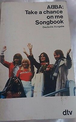 abba take a chance on me songbook
