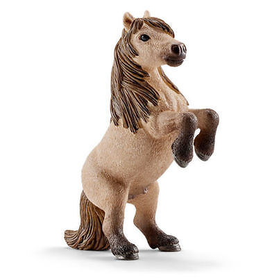 FREE SHIPPING | Schleich 13775 Mini Shetland Pony Stallion Horse -New in Package