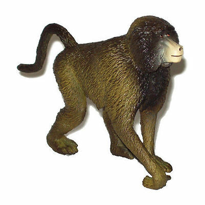 FREE SHIPPING | AAA 55029 Baboon Wild Animal Monkey Figurine - New in Package