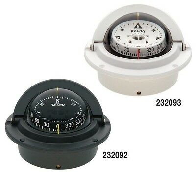 Ritchie Compass Voyager Flush Mount White F-83W 232093