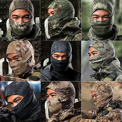 Outdoor Motorcycle Winter Ski Bike Cycling Face Mask Head Cover Balaclava Hat