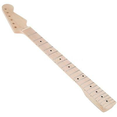 22 Frets Right-handed Replacement Maple Neck Fingerboard for ST Guitar New V8S0