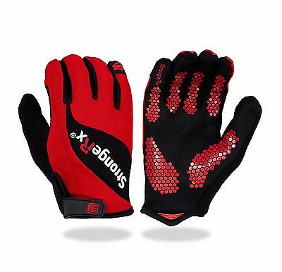 StrongerRx 3.0 WOD Fitness Gloves (Voted #1 Top Fitness Gloves)