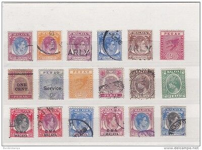 Malaya States Unchecked Collection BB389