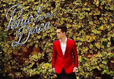 BRENDON URIE Panic! At The Disco PHOTO Print POSTER Death of a Bachelor Shirt 06
