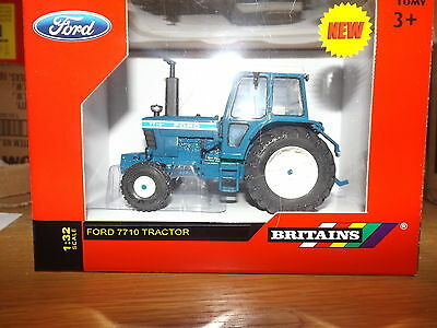 Britains  1;32 Scale Ford 7710  2Wd  Tractor Conversion  New    Boxed