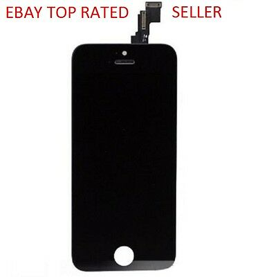 Apple iPhone 5S Black Front Glass LCD Screen Digitizer Assembly
