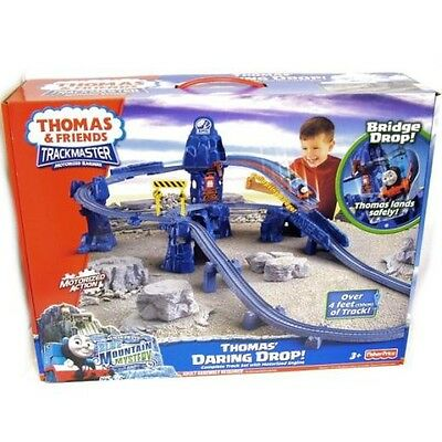 THOMAS the TANK & FRIENDS - THOMAS' DARING DROP SET TRACKMASTER - NEW IN BOX!!