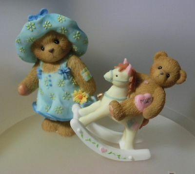 """Cherished Teddies """" For You Mum"""" European  Excl. Set 2  4019210 Mint In Box"""