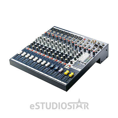 Soundcraft EFX8 8-Channel Mixer with 24-bit Lexicon Digital Effects NEW