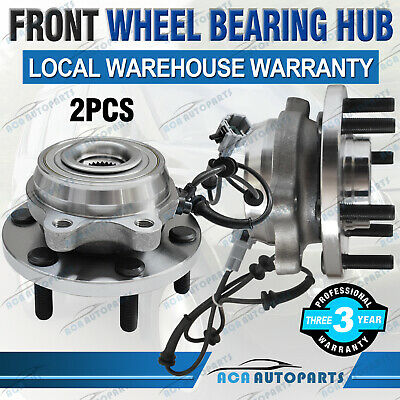 2 FRONT WHEEL BEARING & HUBS UNIT FOR HOLDEN COMMODORE VT-II VX VY VZ with ABS