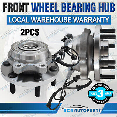 2 FRONT WHEEL BEARING & HUBS UNIT HOLDEN COMMODORE VT-II VX VY VZ with ABS 99-07