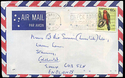 Australia 1980 Commercial Airmail Cover To England #C31650