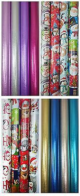 Christmas Gift Paper Assorted Design Kids Children Party Present Wrapping Roll