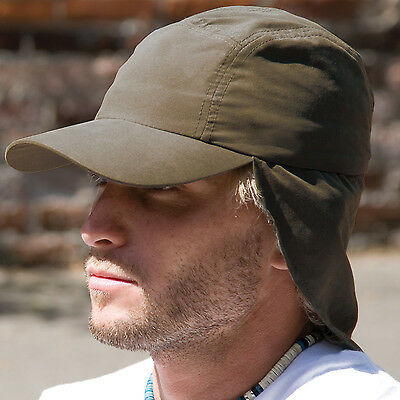Result Headwear Legionnaire Cap Holiday Adventure Hat Sun Protection (RC69)