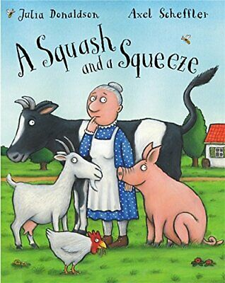 A Squash and A Squeeze by Julia Donaldson Paperback Book The Cheap Fast Free