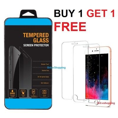 100% Genuine Tempered Glass Film Screen Protector For Apple Iphone 6 Plus New