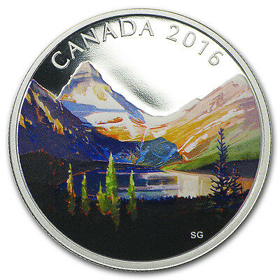 2016 Canada 1 oz Silver $20 Canadian Landscape The Lake - SKU #94231