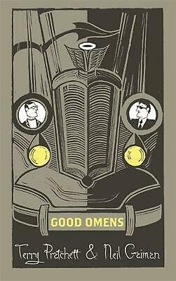 Good Omens by Terry Pratchett Hardcover Book Free Shipping!