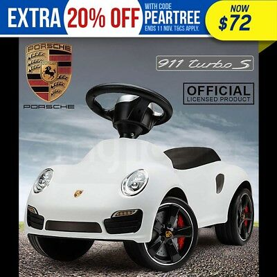 NEW Official Porsche Ride-On Kids Car – Push Foot-To-Floor Toddler Toy Walker