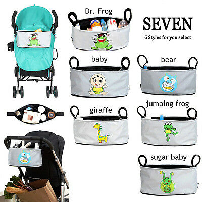 Large Capacity Baby Car Stroller Organizer Carriage Infanette Bag Pram Buggy New