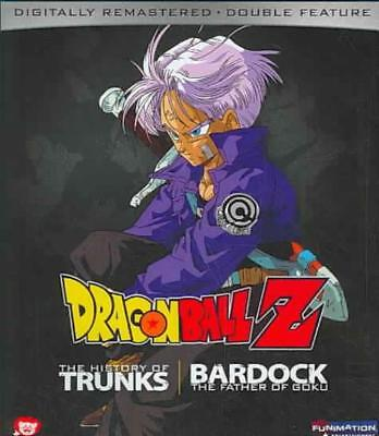 Dragon Ball Z - The History Of Trunks/bardock: The Father Of Goku New Blu-Ray