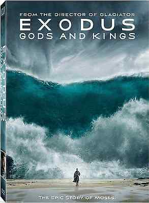 DVD - Exodus Gods And Kings NEW Epic Story Of Moses FAST SHIPPING !