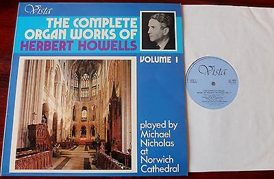 Herbert Howells Organ Works Vol 1 Lp Nicholas Vista Vps 1031 Nm England
