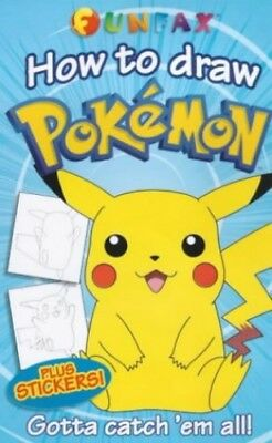 How to Draw Pokemon (Funfax) Paperback Book The Cheap Fast Free Post