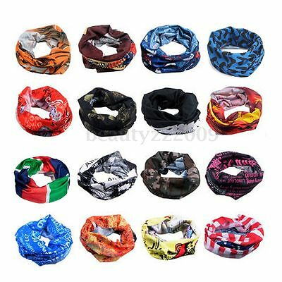 Multi-function Neck Warmer Snood Head Skiing Cycling Bike Sports Bandana Scarf