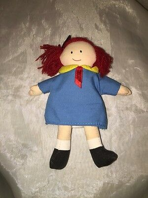 """1998 Eden Madeline 5"""" Plush Doll Very Good Condition"""