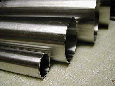 """4"""" OD,  0.065"""" Wall x  12"""" Length (WELD) Stainless 316/316L  Round Tube"""