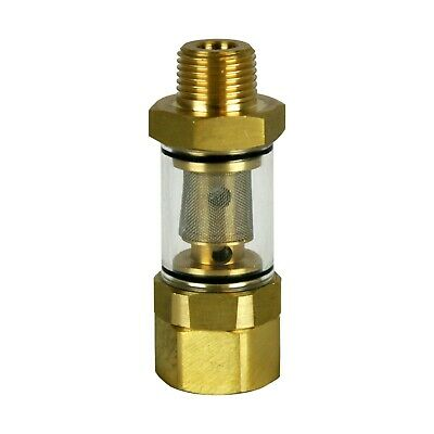 BE Pressure Washer 85.300.054 Max 8.0 GPM Water Inlet Filter 1/2 Mpt by 3/4 FGH